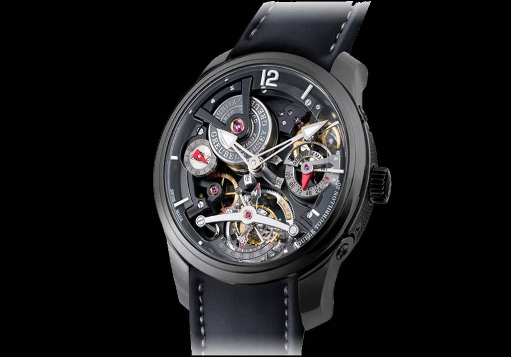 Carmelo Anthony's Haute Time Watch of the Day:  Greubel Forsey Double Tourbillon Technique Black Titanium