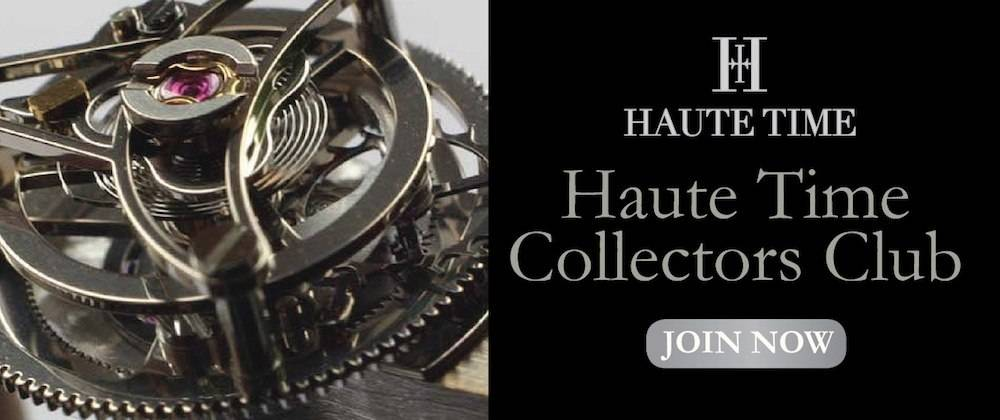 Join the Haute Time Collectors Club