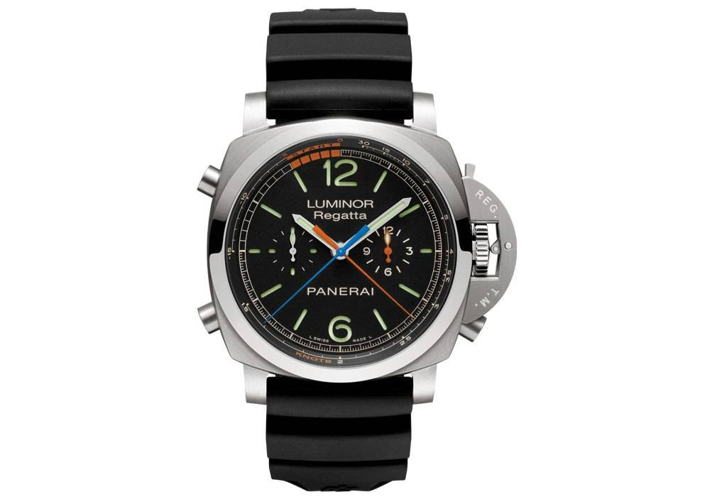 Wind and Water: The Panerai Luminor 1950 Regatta 3 Days Chrono Flyback Titanio 47 MM