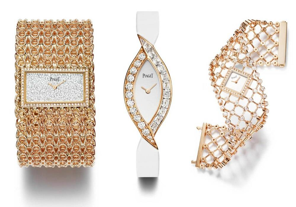 "Piaget Adds Brandebourg Motif Pieces to ""Couture Précieuse"" Collection"
