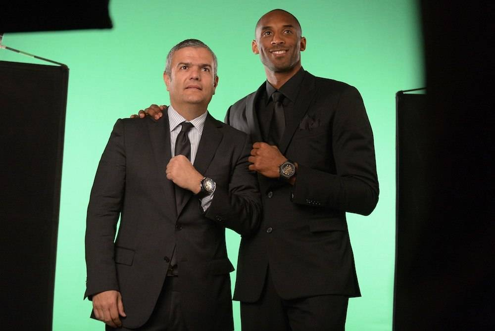 NBA Legend Kobe Bryant is Hublot's New Ambassador