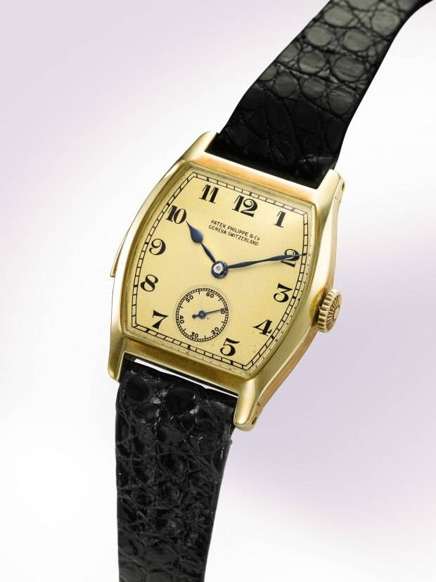 This Patek Philippe minute repeater, made for Henry Graves Jr., sold at Sotheby's  for $2,994,500.