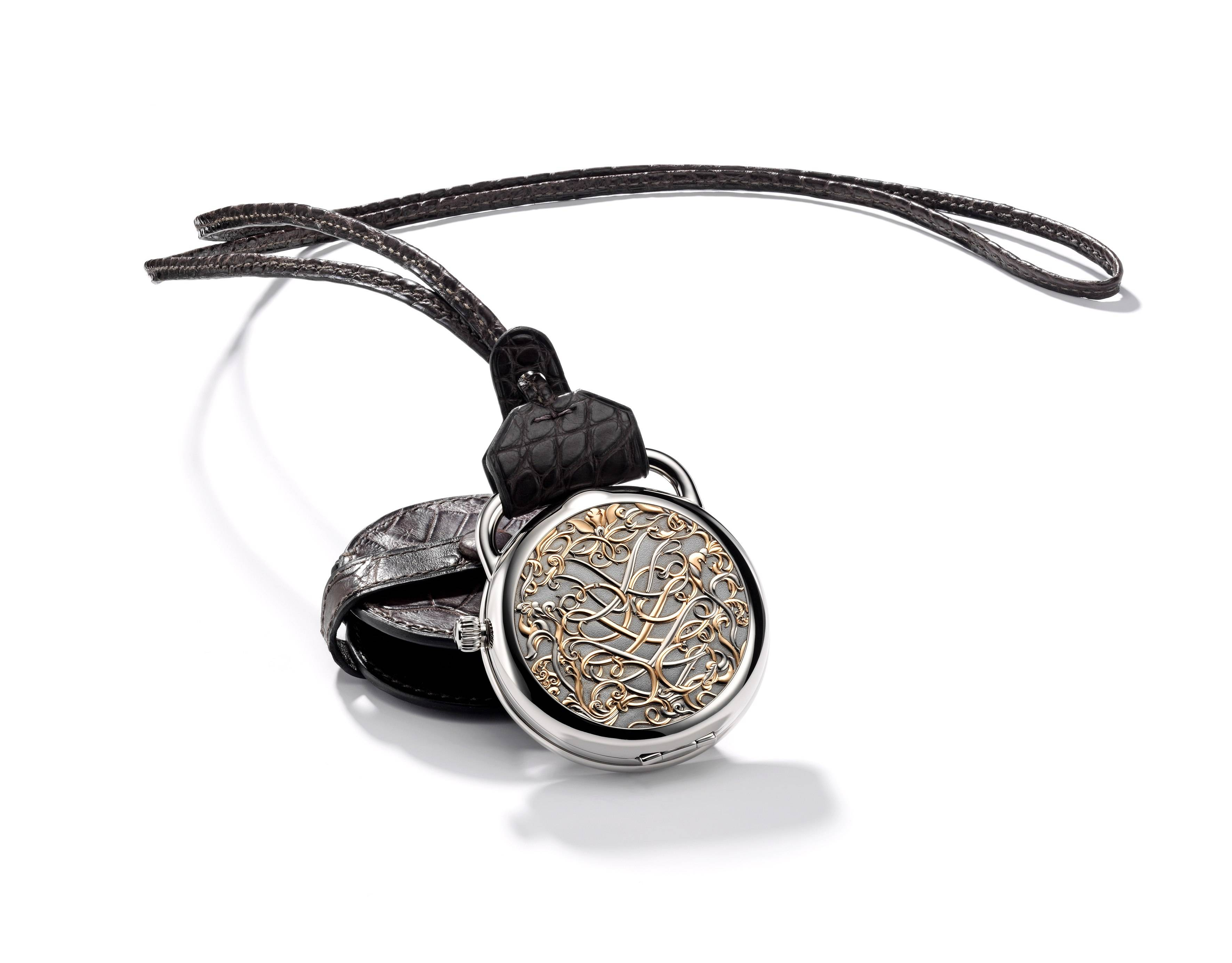 Hermès Pocket Watch Spotlights Craftsmanship