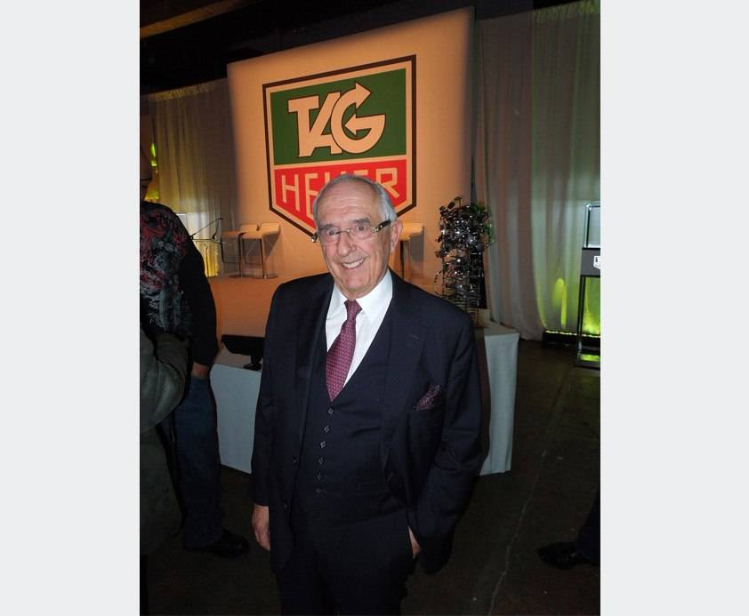 Celebrating 50 Years of the TAG Heuer Carrera Watch with Jack Heuer in New York