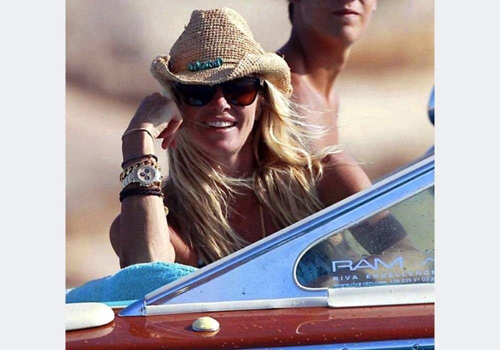 Elle Macpherson Spotted Wearing Rolex Daytona in Ibiza