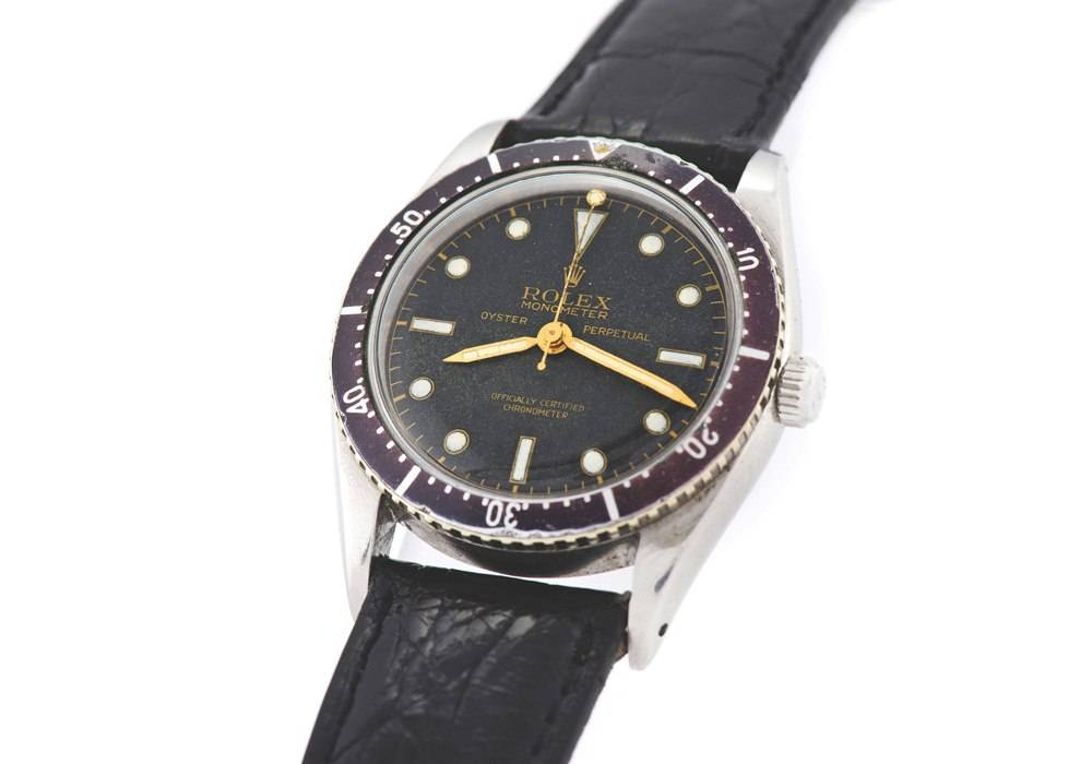Rare 1953 Rolex Monometer Up For Auction