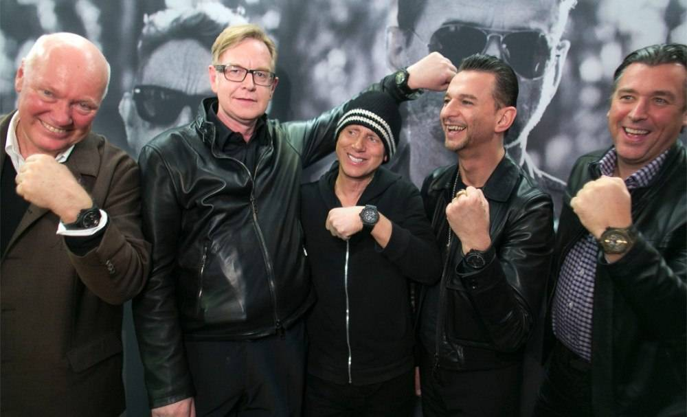 Hublot Teams Up With Depeche Mode to Support Charity: Water