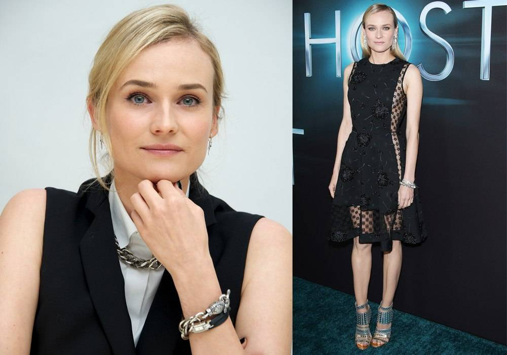 Diane Kruger Spotted Wearing Her Favorite Jaeger-LeCoultre Art Déco Watch