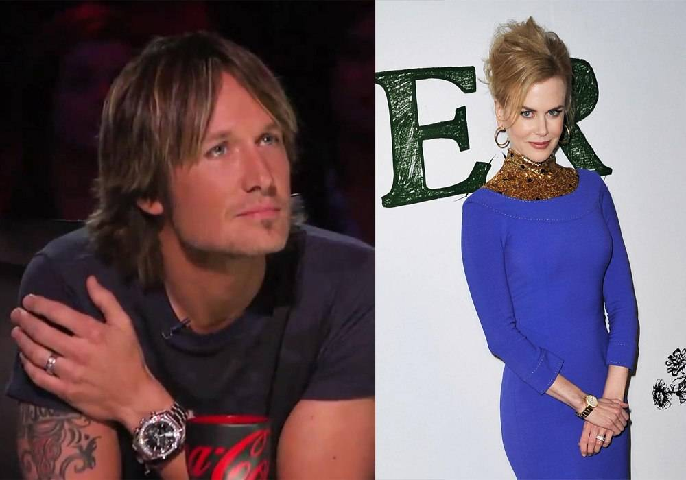 Keith Urban and Nicole Kidman Both Spotted Wearing Omega Watches