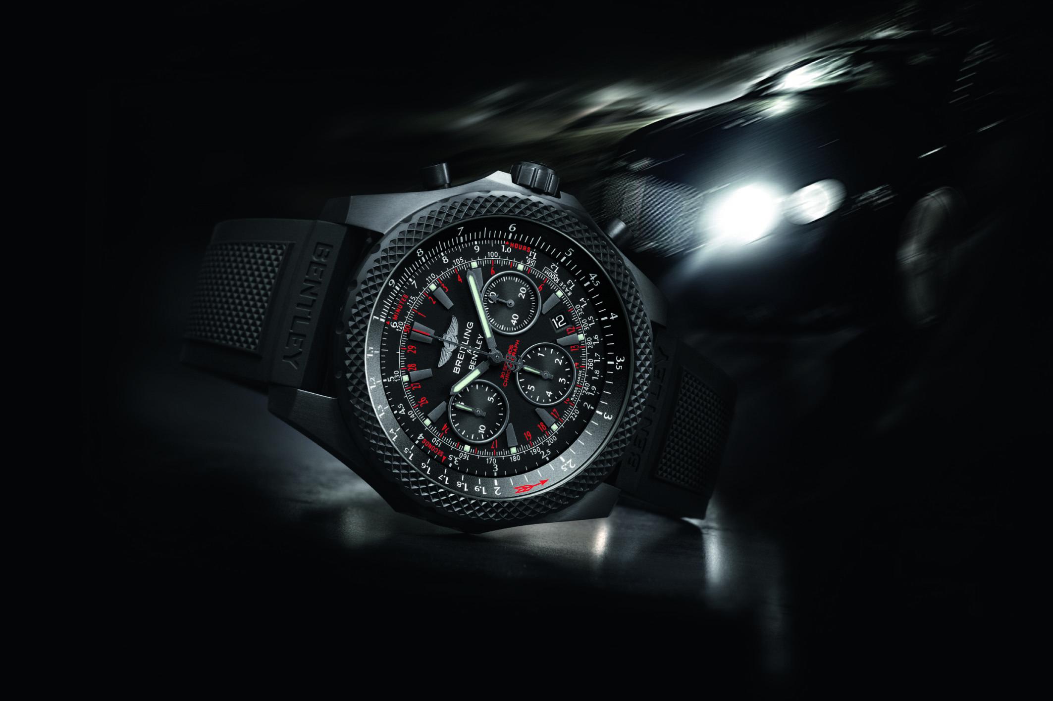 Breitling Unveils Bentley Light Body Midnight Carbon Watch