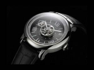 Carmelo Anthony's Haute Time Watch of the Day:  Cartier Rotonde Astrotourbillon Carbon Crystal