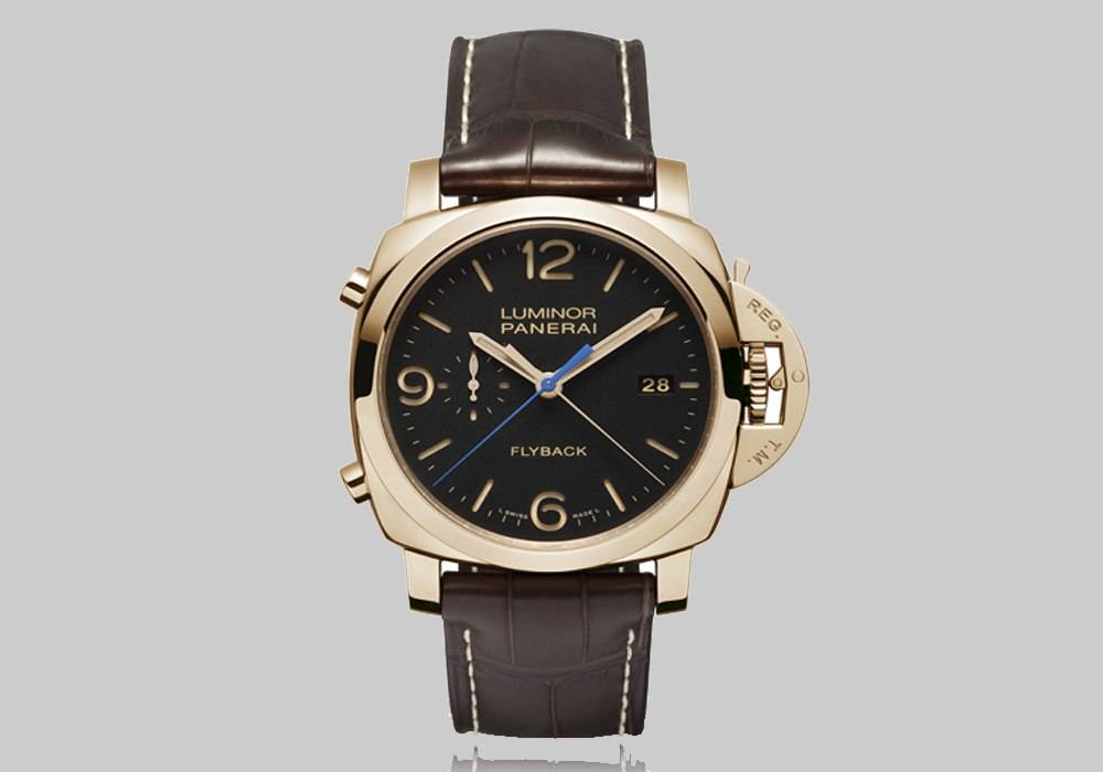 Carmelo Anthony's Haute Time Watch of the Day:  Panerai Luminor 1950 3 Days Chrono Flyback Automatic Oro Rosso