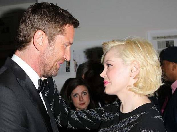 Gerard Butler and Rose McGowan