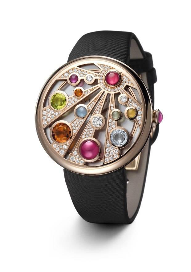 Secret watch from the Bulgari Mediterranean Eden collection.