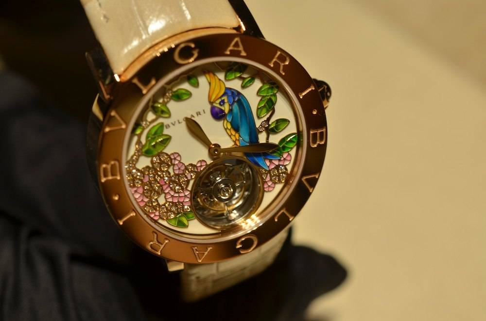 Haute Time Visits Bulgari at BaselWorld