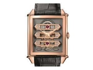 Carmelo Anthony's Haute Time Watch of the Day:  Girard-Perregaux Vintage 1945 Tourbillon With Three Gold Bridges