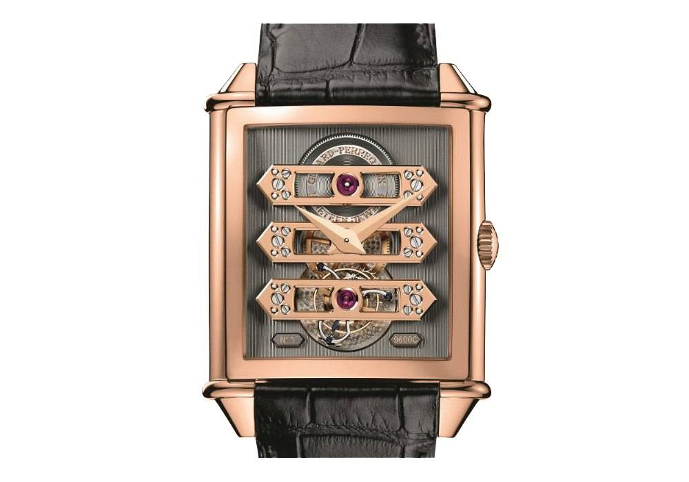 Carmelo Anthony's Haute Time Watch of the Day:  Girard-Perregaux Vintage 1945 Tourbillon With Three Gold Bridges