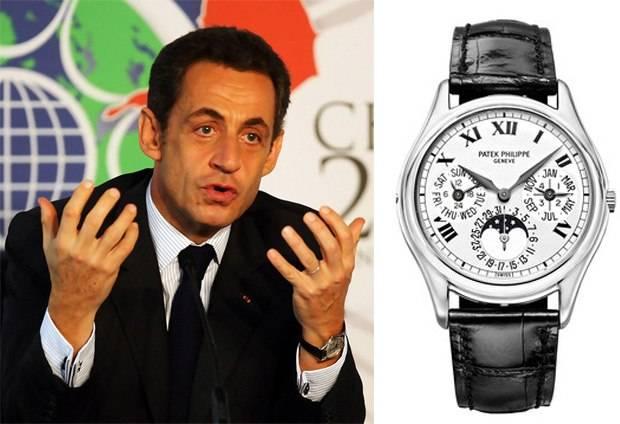 Nicolas Sarkozy Spotted Wearing Patek Philippe Perpetual Calendar White Gold 3940G