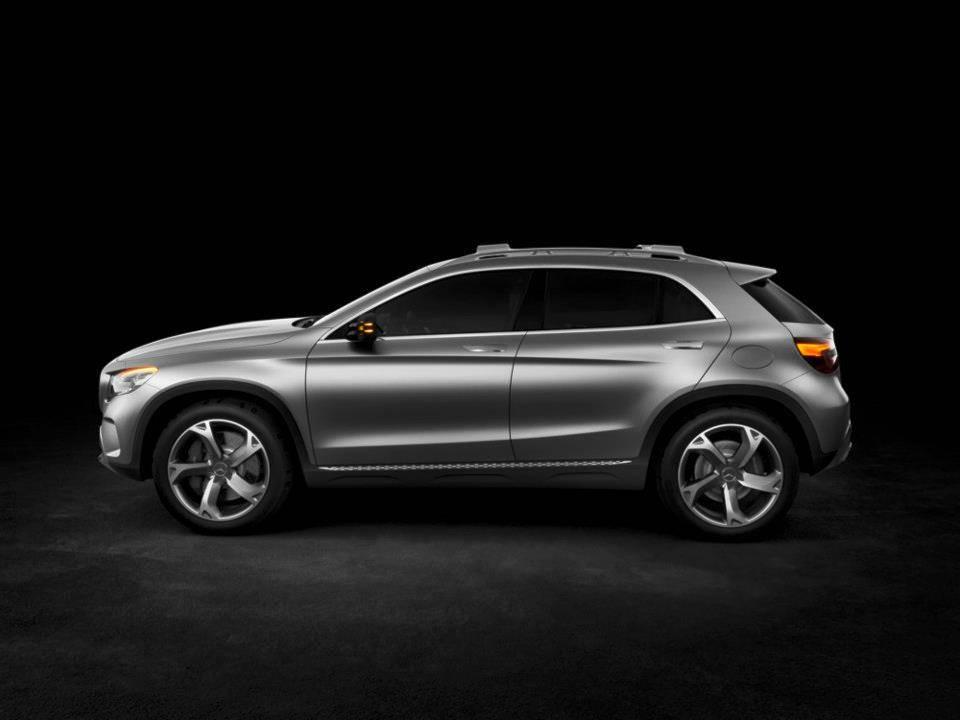Mercedes-Benz Unveil Concept GLA at Shanghai Auto Show