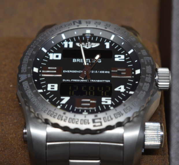 The Breitling Emergency watch saves lives.