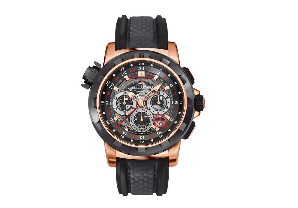 Carmelo Anthony's Haute Time Watch of the Day:  Carl F. Bucherer Patravi Travel Tec FourX Limited Edition