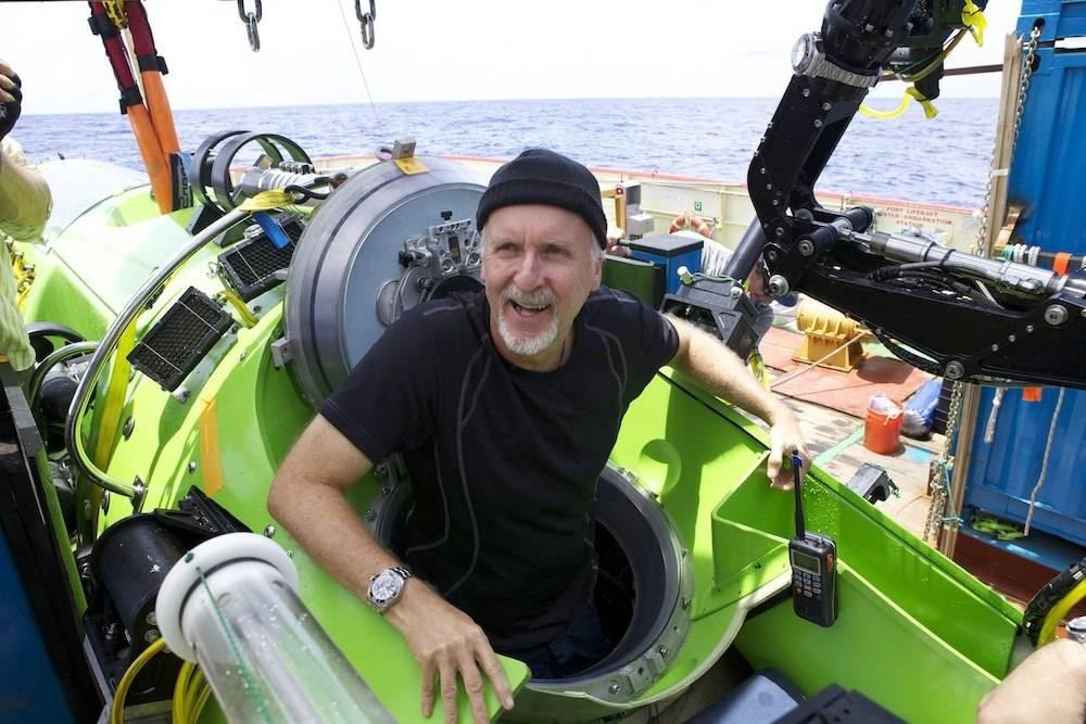 James Cameron Brings Experimental Rolex Deepsea Challenge Watch On Dive
