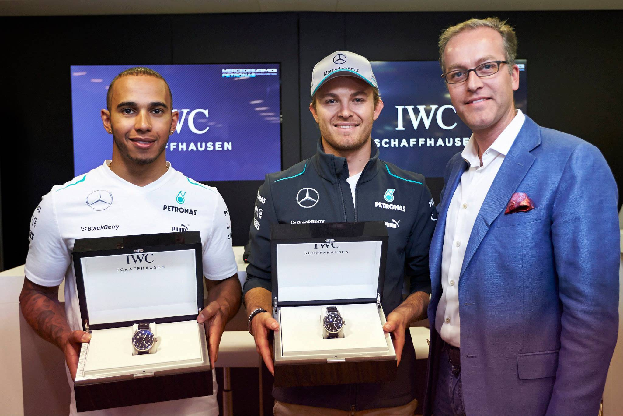IWC Deepen Ties to Mercedes AMG Petronas With Singapore Formula 1 Contest