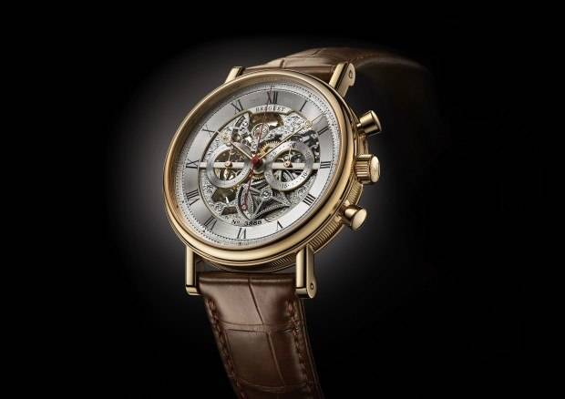 The Breguet Classique Chronograph Openworked, for ONLY Watch Auction.