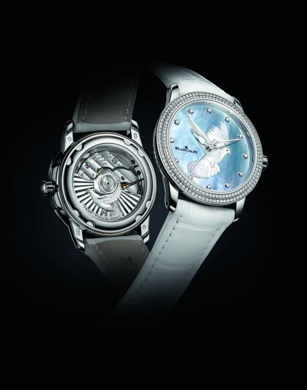 The Blancpain ONLY watch for women.