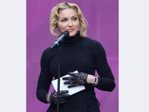 Madonna Spotted Wearing Jacob & Co. Two Time Zone Angel