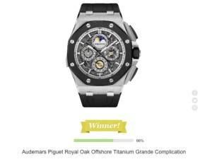 Audemars Piguet Wins Time Madness 2013!