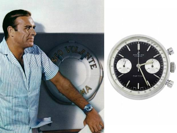 James Bond's Thunderball Breitling Watch Fetches $160,175