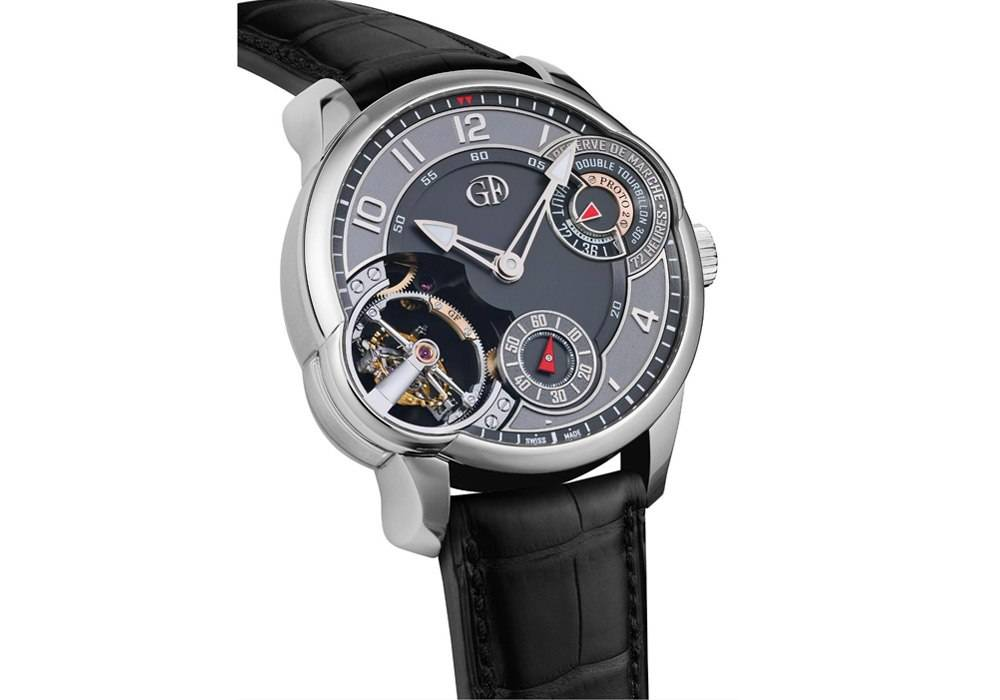 Carmelo Anthony's Haute Time Watch of the Day:  Greubel Forsey Double Tourbillon Asymétrique