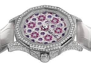Close Up: Corum Admiral's Cup Legend 38 Diamonds Are Forever