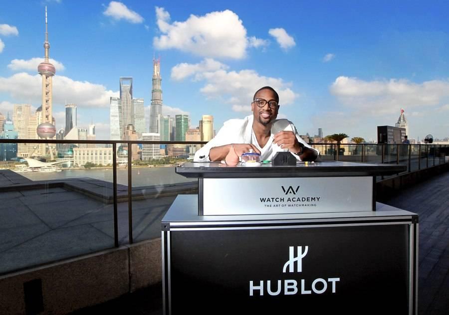 Dwyane Wade Visits China With Hublot