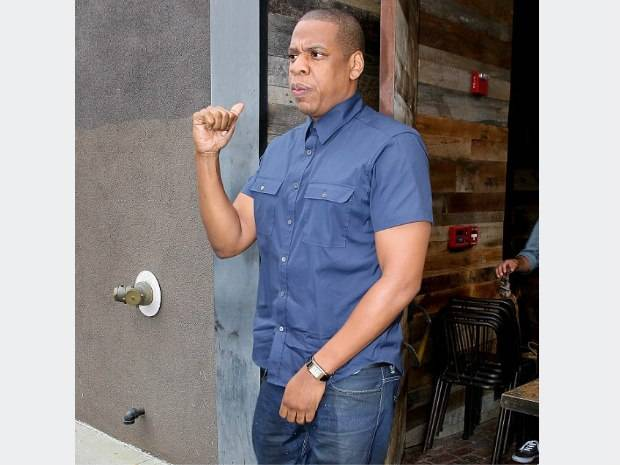 Jay-Z Spotted Wearing Jaeger-LeCoultre Grande Reverso Ultra Thin