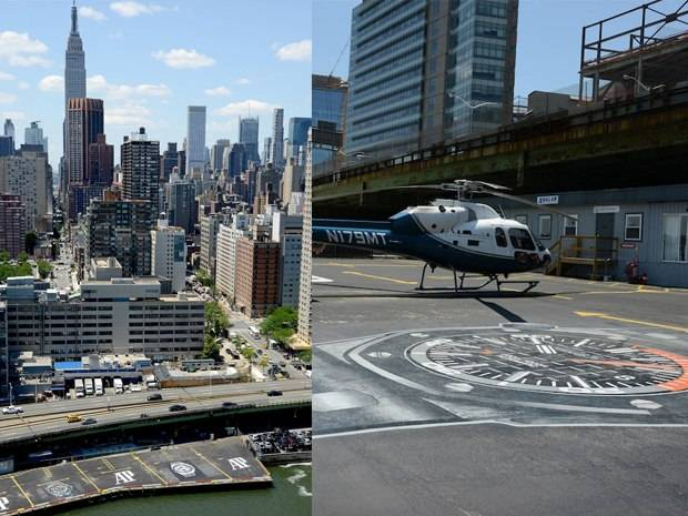 Audemars Piguet Takes Over New York's 34th Street Helipad