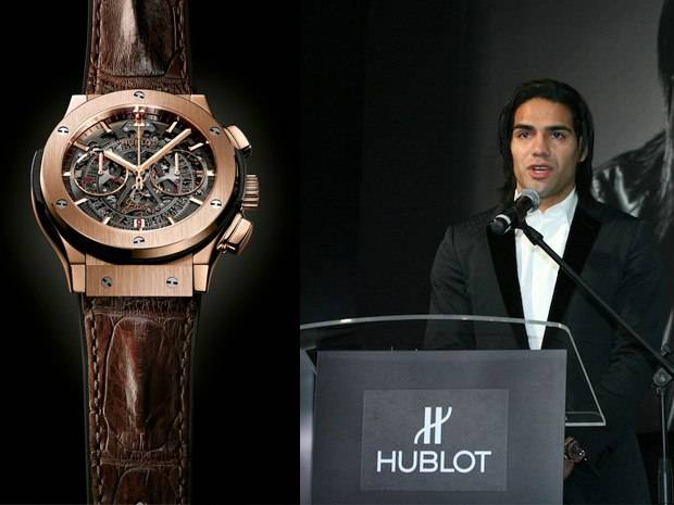 Hublot Teams Up With Puma and Falcao in Colombia