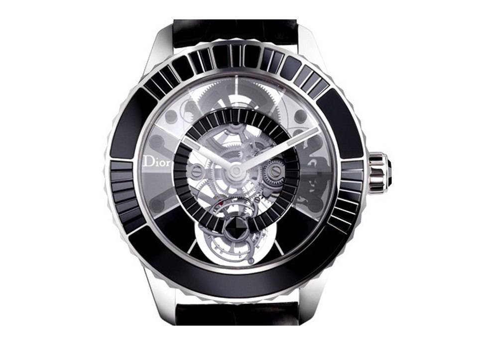 Carmelo Anthony's Haute Time Watch of the Day: Dior Christal Tourbillon Diamants Noir
