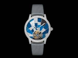 Carmelo Anthony's Haute Time Watch of the Day:  Jaeger-leCoultre Rendez-Vous Tourbillon Wild