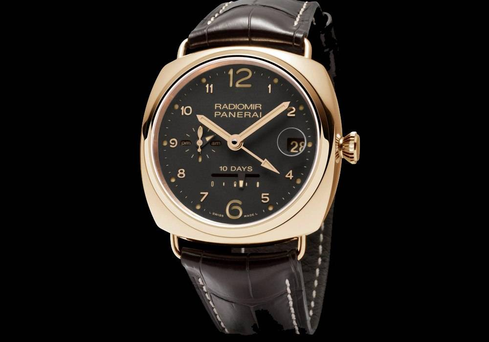 Carmelo Anthony's Haute Time Watch of the Day: Panerai Radiomir 10 Days GMT Oro Rosso