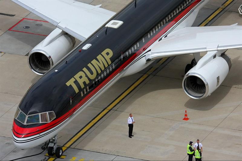 Haute Jet Of The Week Donald Trump S 100m Boeing 757
