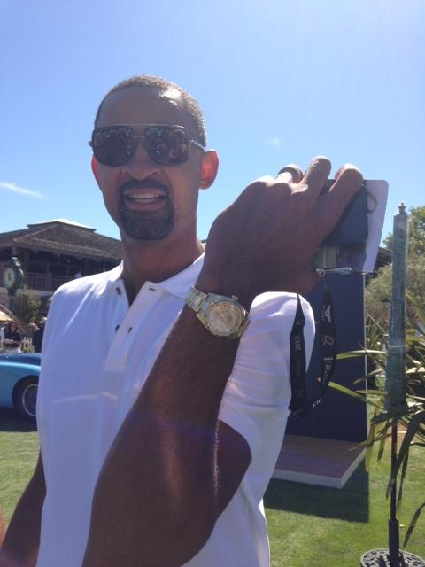 Juwan Howard Spotted Wearing Yellow Gold Rolex Sky-Dweller ...