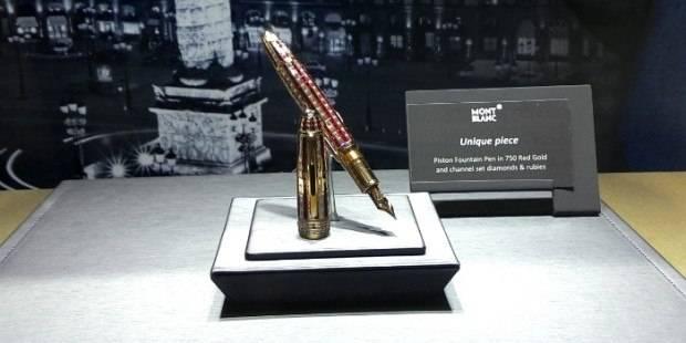 Montblanc Unveils Unique Ruby Pen for Abu Dhabi