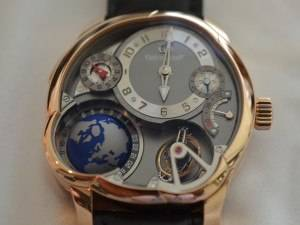 Carmelo Anthony's Haute Time Watch of the Day:  Greubel Forsey GMT