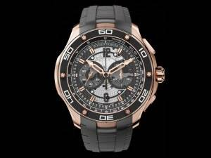 Carmelo Anthony's Haute Time Watch of the Day:  Roger Dubuis Pulsion Chronograph in Pink Gold
