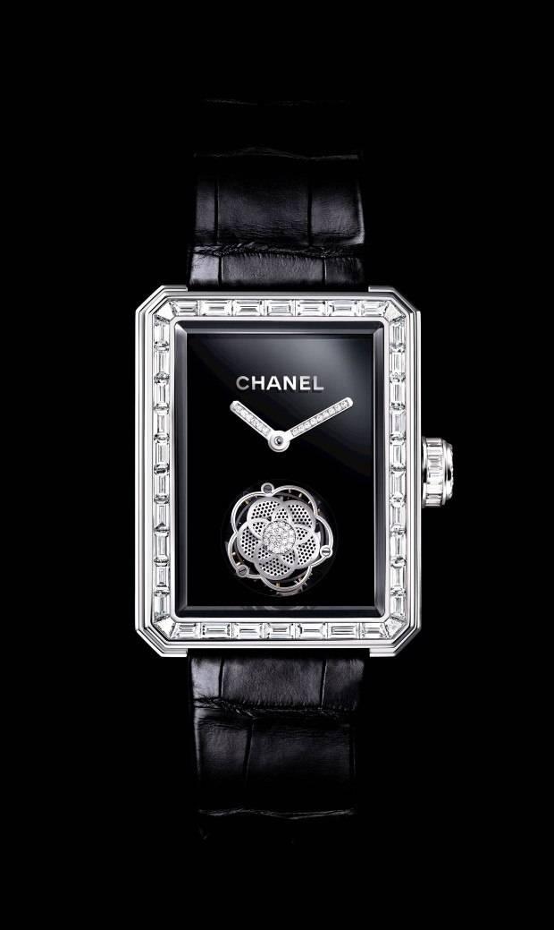 The Chanel Première Flying Tourbillon.