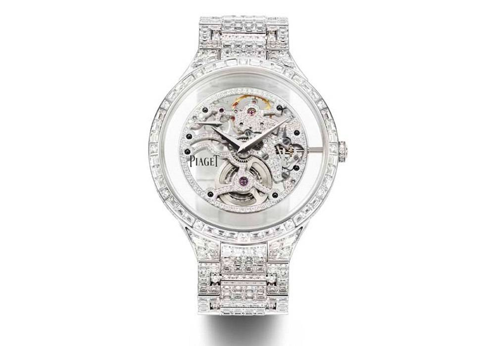 Carmelo Anthony's Haute Time Watch of the Day:  Piaget Dancer Skeleton