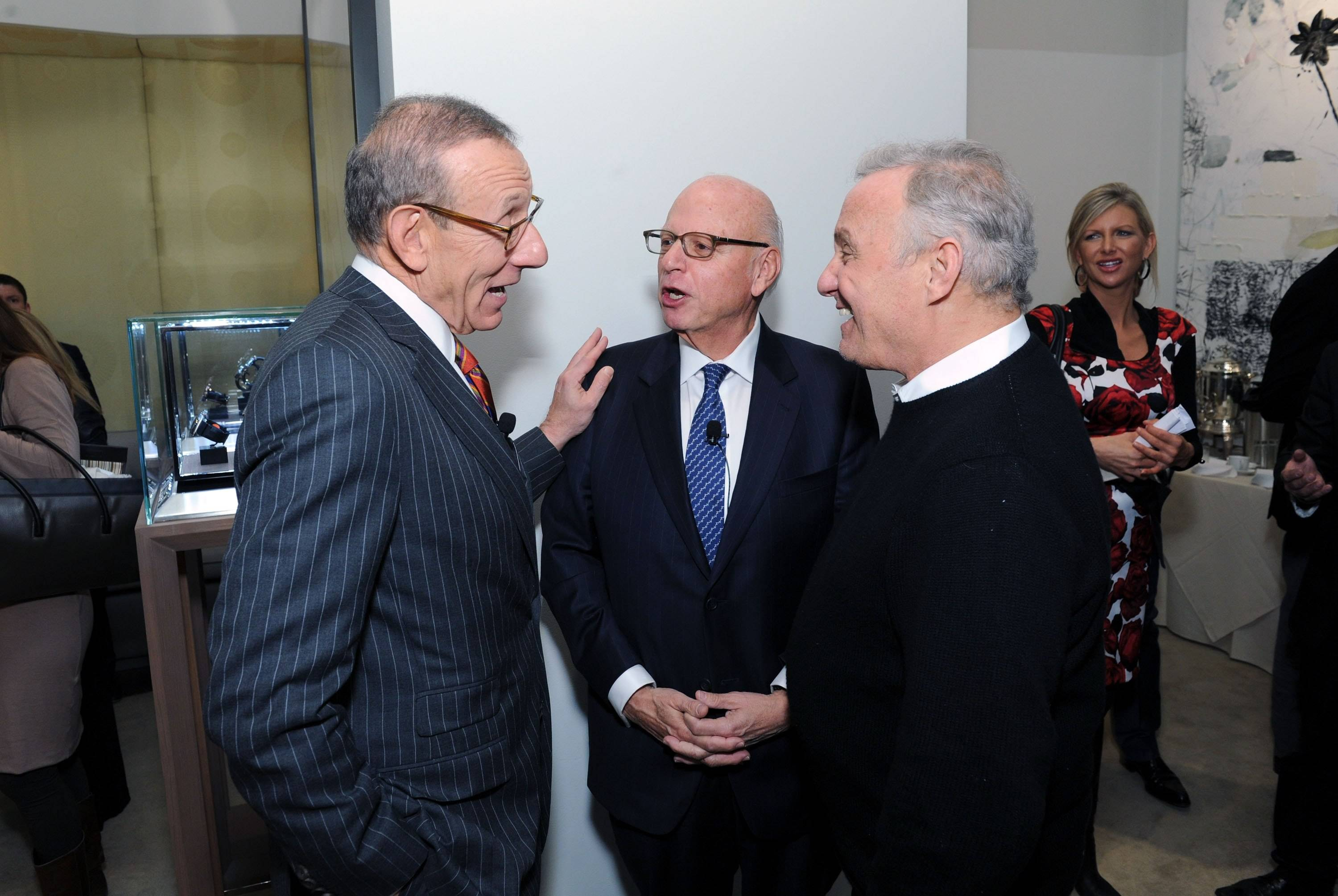 Stephen Ross, Howard Lorber and Ian Schrager