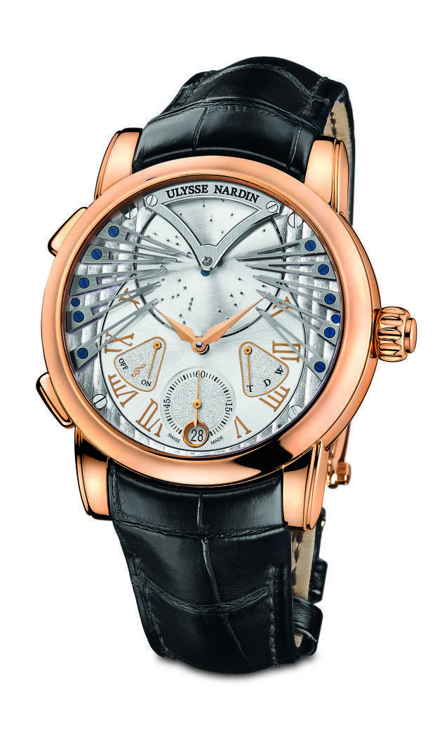 "Ulysse Nardin Stranger, plays ""Strangers in the Night."""